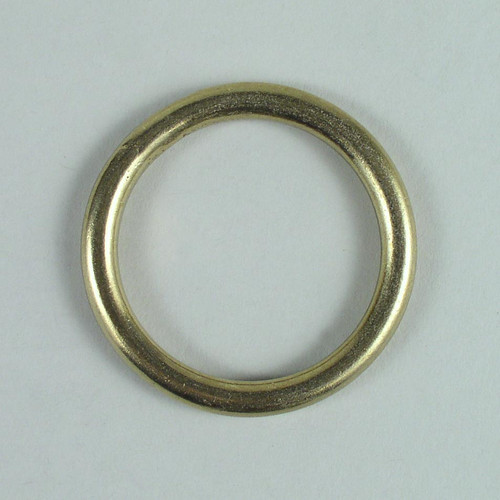 Solid cast brass O-ring inside diameter is 1 3/4 inch.