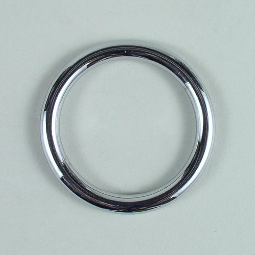 Solid cast O-ring inside diameter is 1 3/4 inch.