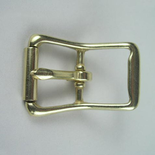 Roller belt buckle inside diameter is 1 inch.