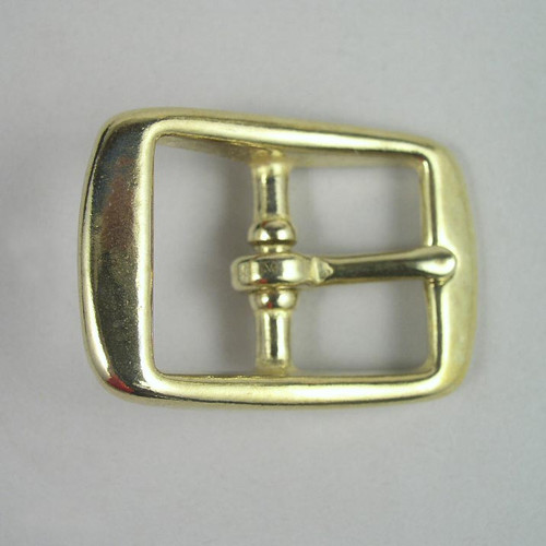 Harness buckle inside diameter is 1 inch.