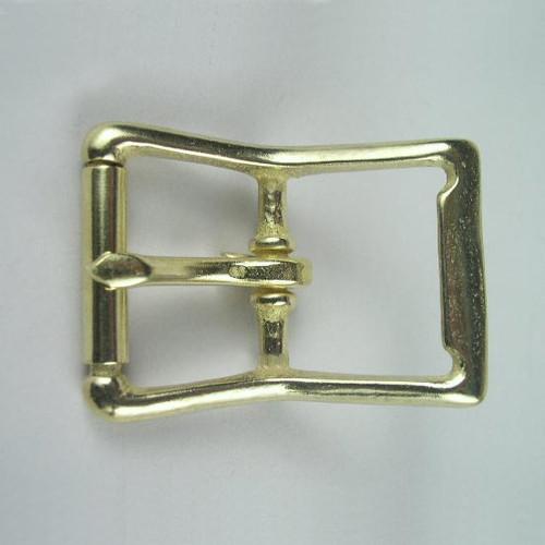 Center bar buckle inside diameter is  1 1/4 inch.