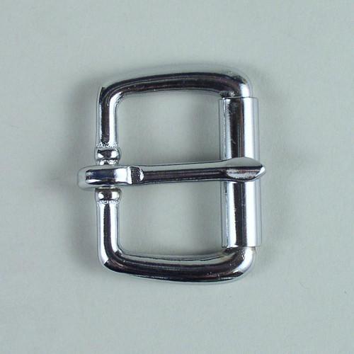 Roller belt buckle inside diameter is  1 1/4 inch.
