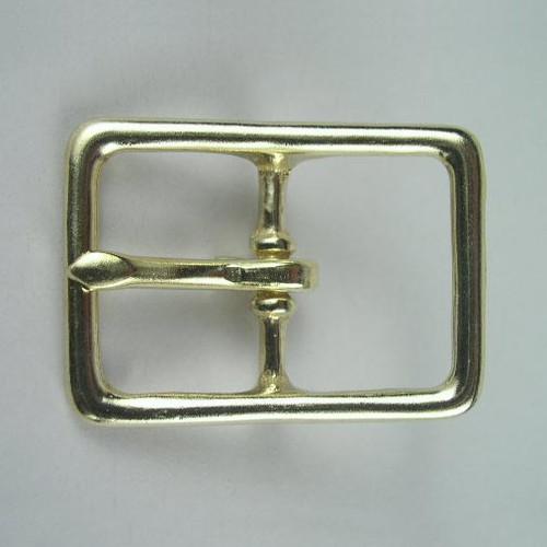 Harness buckle inside diameter is 1 1/4 inch.