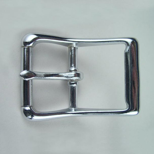 Harness buckle inside diameter is 1 1/2 inch.