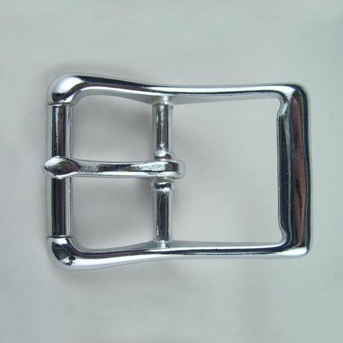 Harness buckle inside diameter is 1 1/2 inch.