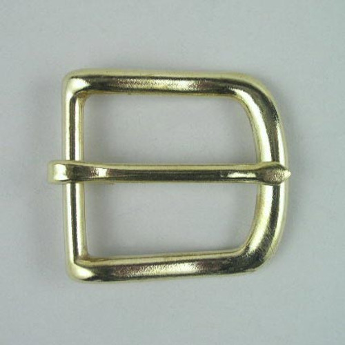 Heel bar buckle inside diameter is  1 1/2 inch.