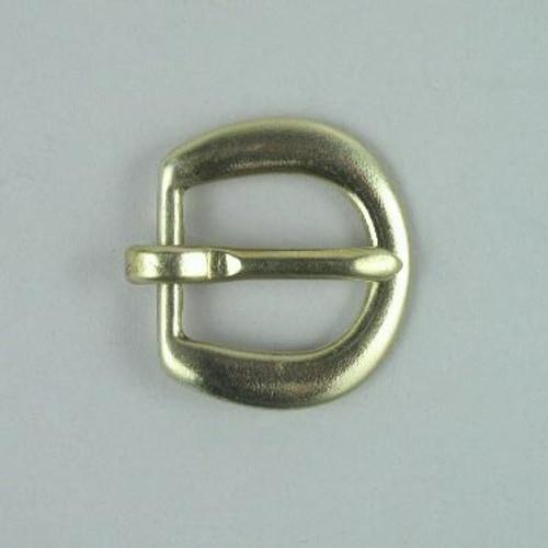 Heel bar buckle inside diameter is 3/4 inch.