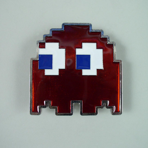 Pacman Ghost Belt Fits 1 1/2 Inch Wide Belt.