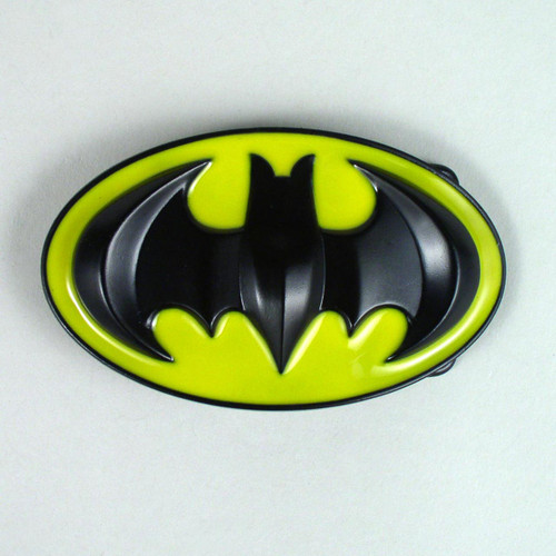 3D Batman Belt Buckle Fits 1 1/2 Inch Wide Belt.