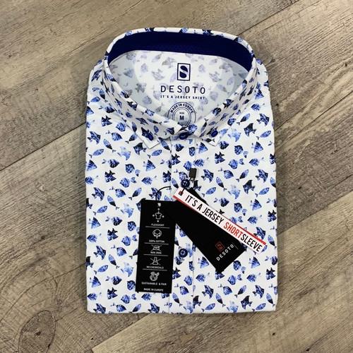 DESOTO Short Sleeve Print Shirt 411 31-3