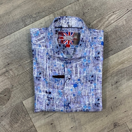 7 DOWNIE ST  Short Sleeve Shirt 7029