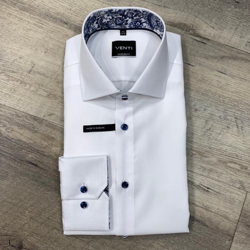 VENTI  Long Sleeve Dress Shirt Modern Fit  1034129