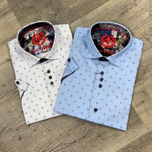 AU NOIR  Short Sleeve Shirt  Uston