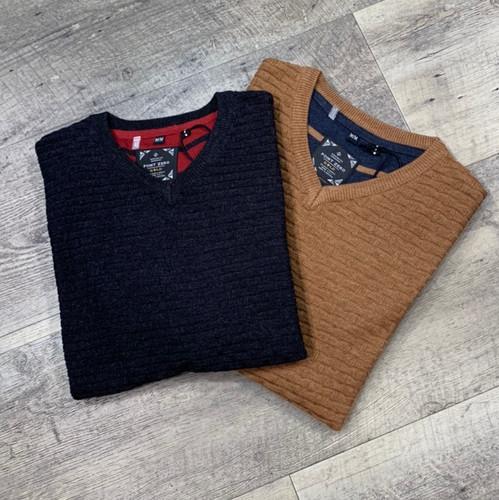 POINT ZERO  V-Neck Sweater 7753409