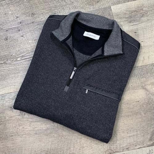 BUGATTI 1/4 Zip Mock Sweater 8550