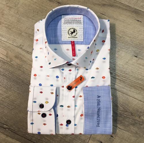 A FISH NAMED FRED  Long Sleeve Shirt  20.02.030