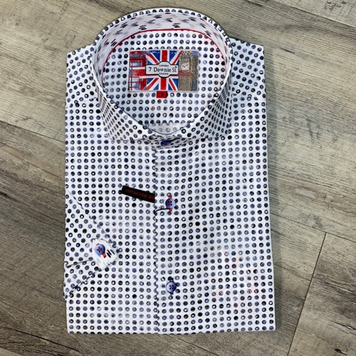 7 DOWNIE ST   Short Sleeve Shirt 3563 (JCC16215)