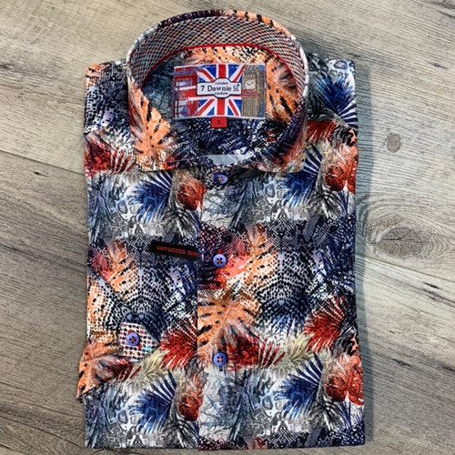 7 DOWNIE ST  Short Sleeve  Shirt  3501 (JCC16217)