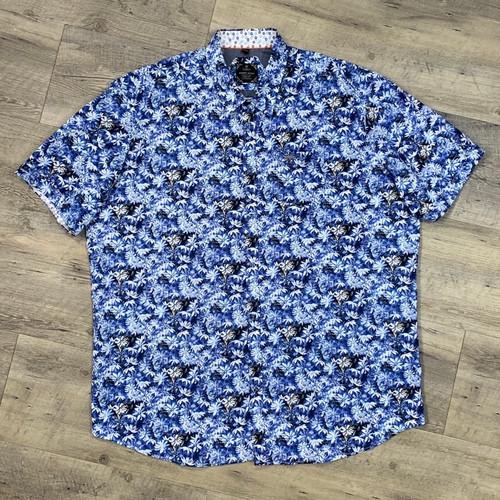 POINT ZERO  Short Sleeve Stretch Shirt 7254878 (JCC16414)
