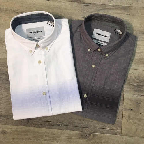 JACK & JONES Short Sleeve Shirt  12166678 (JCC16237)