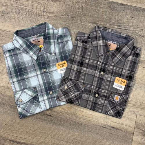 CARHARTT Short Sleeve Snap Shirt 104171 (JCC16347)
