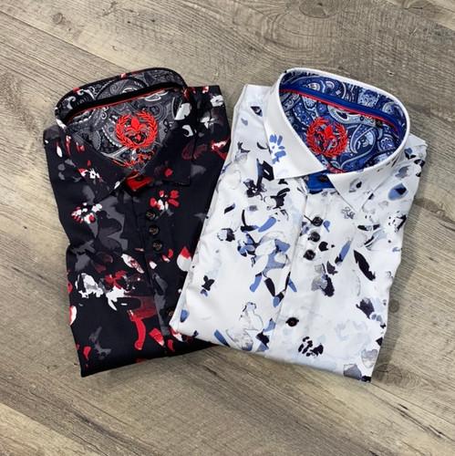 AU NOIR  Long Sleeve Shirt Cristobal (JCC13985)