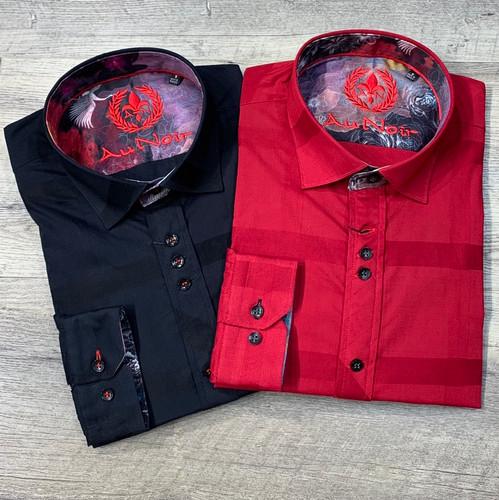 AU NOIR  Long Sleeve Shirt Fabriano (JCC13984)
