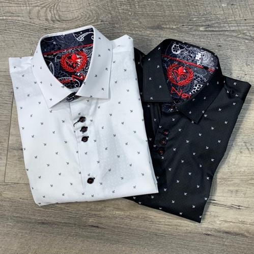 AU NOIR Long Sleeve Shirt Morandi (JCC13987)