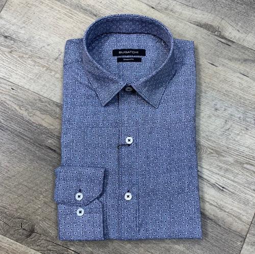 BUGATCHI  Long Sleeve Shirt NBS837L2S (JCC16462)