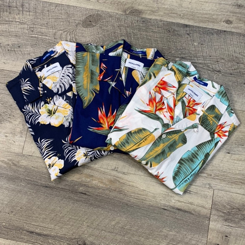JACK & JONES Short Sleeve Shirt Cole 12152596 (JCC13376)