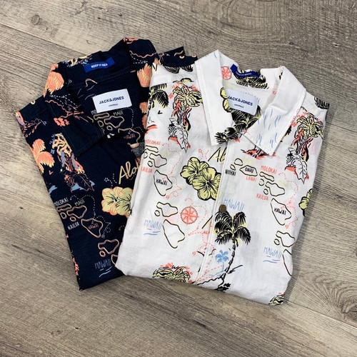 JACK & JONES  Short Sleeve  Shirt Noah 12152594 (JCC13375)