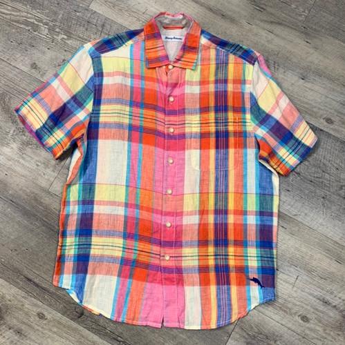 TOMMY BAHAMA Short Sleeve Shirt 319656 (JCC12788)