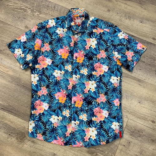 7 DOWNIE ST Short Sleeve Shirt 2122 (JCC13520)