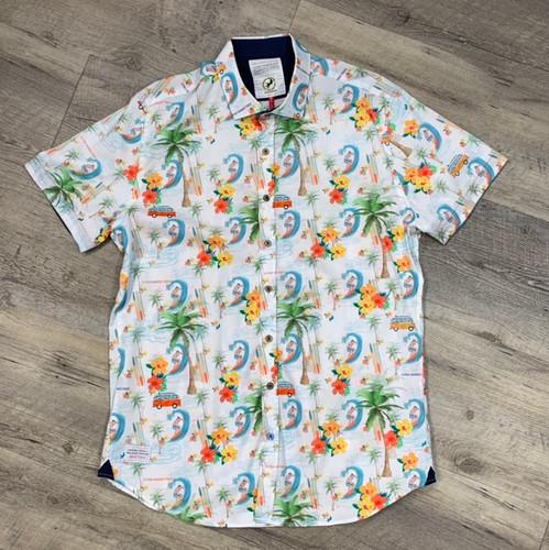 A FISH NAMED FRED  Short Sleeve Shirt Hawaii 04 071 (JCC13452)