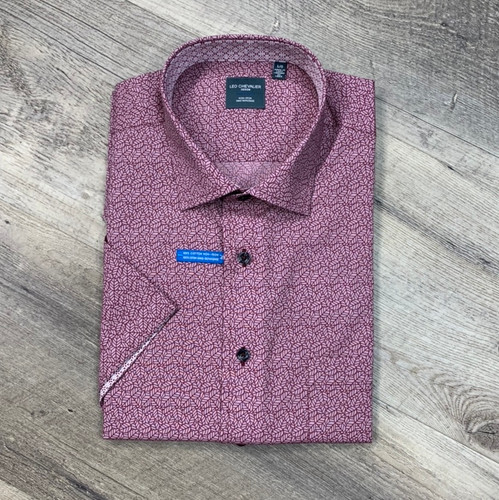 LEO CHEVALIER  Short Sleeve Shirt 524360 (JCC16285)