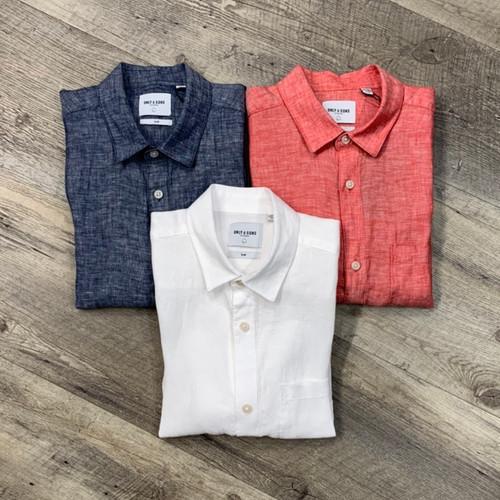 ONLY & SONS Short Sleeve Linen 22013260 (JCC13716)