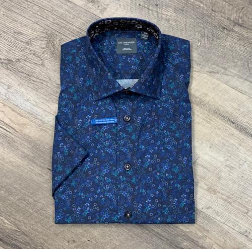 LEO CHEVALIER Short Sleeve Shirt 524367 (JCC16283)