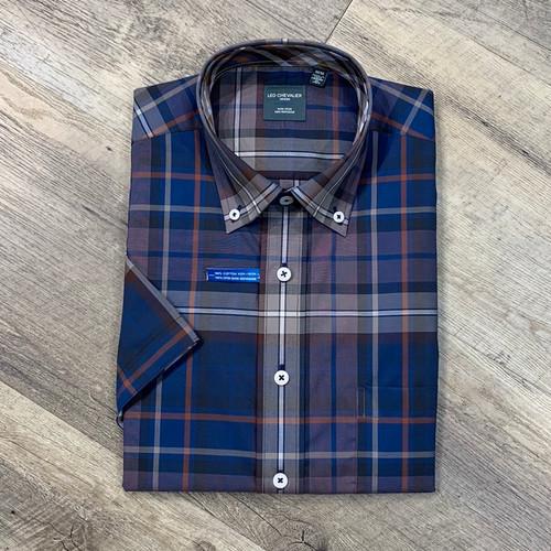 LEO CHEVALIER Short Sleeve Shirt 524383 (JCC16280)