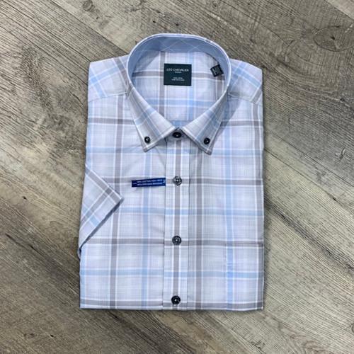 LEO CHEVALIER  Short Sleeve  Shirt 524396 (JCC16279)