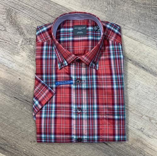 LEO CHEVALIER  Short Sleeve Shirt 524391 (JCC16282)