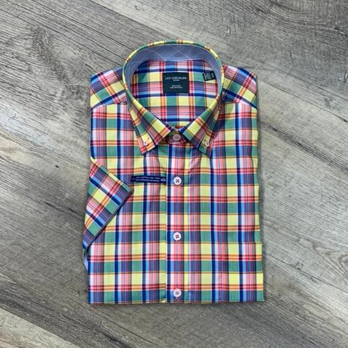 LEO CHEVALIER Short Sleeve Shirt 524393 (JCC16281)