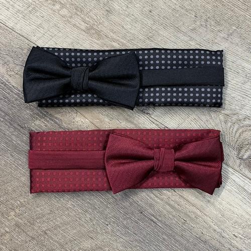 KNOTZ Silk Bow Tie Set (JCC12843)