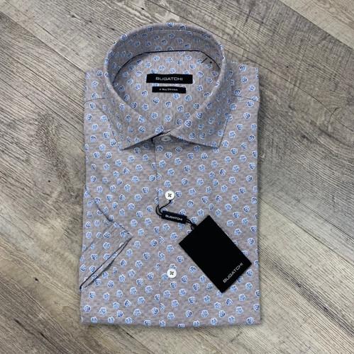 BUGATCHI  Short Sleeve Shirt NBF229K67 (JCC16457)