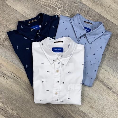 JACK&JONES Short Sleeve Shirt 12170482 (JCC16429)