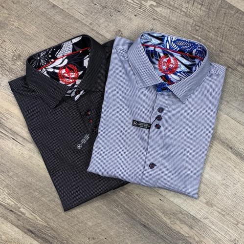AU NOIR  Short Sleeve Shirt  Valdes (JCC16448)