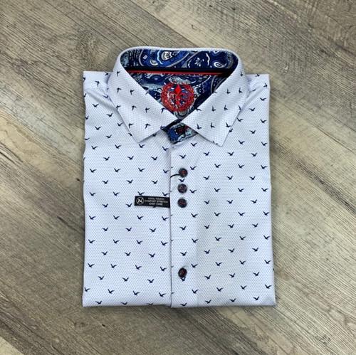 AU NOIR  Short Sleeve Shirt  Naxos (JCC16446)