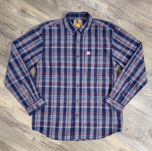 CARHARTT  Long Sleeve Shirt Plaid 104444  (JCC16579)