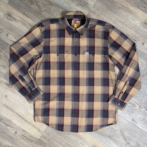 CARHARTT  Long Sleeve Shirt Plaid 104447 (JCC16580)