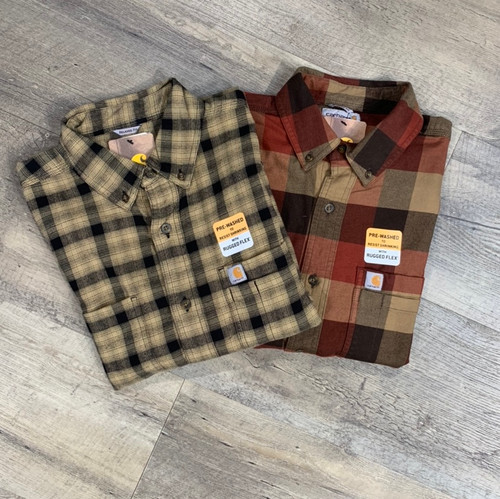 CARHARTT Long Sleeve Shirt Flannel 104448 (JCC16575)