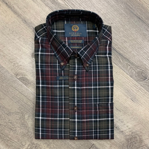 VIYELLA Long Sleeve Flannel Shirt 555430 (JCC16563)